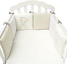 Eternitry Baby Crib Bumper Toddle Nursery Bedding