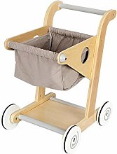 Eternitry Wooden Toy Shopping Trolley Wood