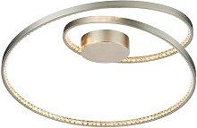 Eternity - Integrated LED Flush Matt Nickel Plate