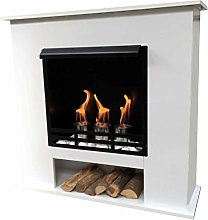 Ethanol and Gel Fireplace Model 001W Including 27