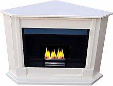 Ethanol Corner fireplace Model Moskau Select the