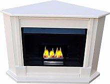 Ethanol Fireplace and Gel Fireplace - Corner