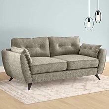 Etheredge 3 Seater Sofa Hykkon Upholstery: Bark