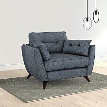 Etheredge Armchair Hykkon Upholstery: Charcoal