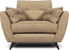 Etheredge Armchair Hykkon Upholstery: Cream