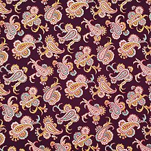Ethnic Collection Printed Stretch Fabric by The