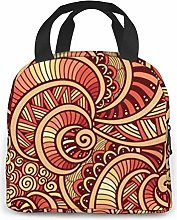 Ethnic Lunch Bag Tote Bag Lunch Organizer Lunch
