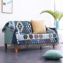 Ethnic style full-covering sofa towel sofa cover