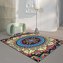 Ethnic Style Retro Printed Carpet Rectangular