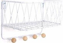 Etiger Grid Wall Shelf, Hanging Basket, Wire Wall