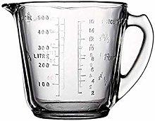 ETJar 250Ml Glass Measuring Jugs Kitchen Baking