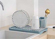 ETJar Countertop Dish Drying Basket Iron Pp Dishes