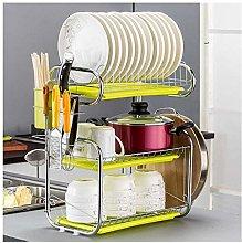 ETJar Countertop Dish Drying Basket with Tray