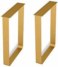 ETJar Furniture Legs Solid Steel, Thickened