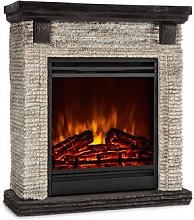 Etna Electric Fireplace 1800W Weekly Timer Remote