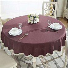ETXJBXS Round Table Tablecloth Cloth Art Cotton