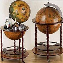 Eucalyptus Bar Globe Drinks Cabinet Style