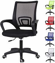 EUCO Black Desk Chairs Executive Office Chair
