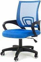 EUCO Blue Desk Chair Executive Adjustable Computer