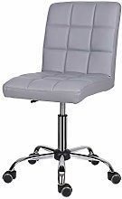 EUCO Desk chair for Home,Grey Office Chair Comfy