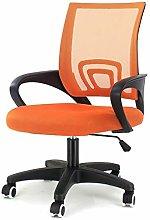 EUCO Desk Chair For Office Orange Ergonomic Swivel