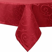 EUGAD Tablecloth Wipe Clean Damask Tablecloth