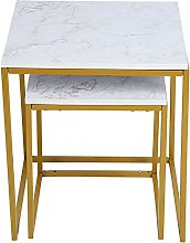 Eulbevoli End Table, Durable Home Accessory Coffee