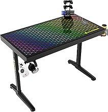 EUREKA ERGONOMIC Gaming Desk I43 Tempered Glass