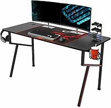 EUREKA ERGONOMIC Gaming Desk K55 Gaming Table K