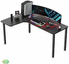 EUREKA ERGONOMIC Gaming Desk L60 L shape Gaming