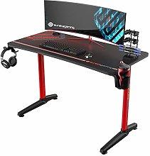 EUREKA ERGONOMIC Gaming Desk P47 I Shaped Gaming