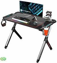 EUREKA ERGONOMIC Gaming Desk RGB Lighting R1-S
