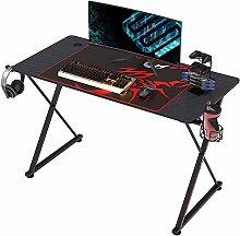 EUREKA ERGONOMIC Gaming Desk X47 Gaming Table X