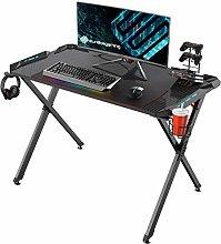 EUREKA ERGONOMIC X1-S Gaming Computer Desk with