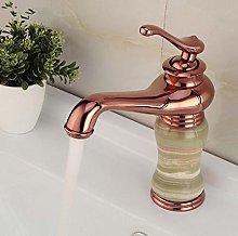 Euro Luxury Style Bathroom Rose Gold Finish Basin
