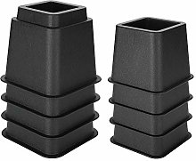 Eurobuy Furniture and Bed Risers, 4 x 5Inch and 4