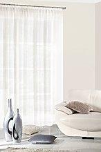 Eurofirany Curtain, 100% polyester, cremig, 0.02 x