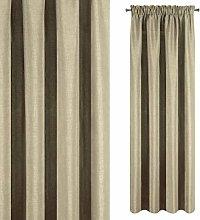 Eurofirany Curtain Plain Beige Plain Weave Smooth