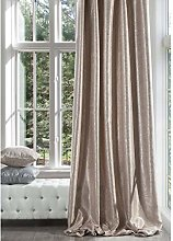 Eurofirany Opaque Curtain Pink with Silver Print