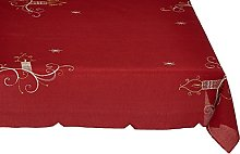 Eurofirany Table Runner Red 85 x 85 cm