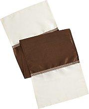 Eurofirany Tablecloth, Polyester, Beige, 40 x 140