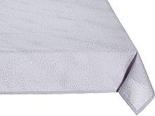 Eurofirany Tablecloth, Polyester, Grey, 40 x 140 x