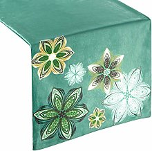 Eurofirany tablecloth table runner velvet floral