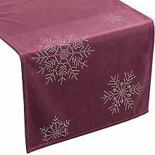Eurofirany tablecloth, velvet Christmas