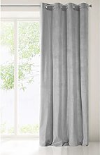 Eurofirany Velvet Curtain Navy Blue Dark Blue Matt