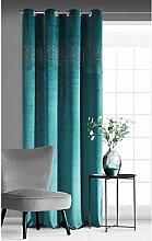 Eurofirany Velvet Velvet Curtain Turquoise Green