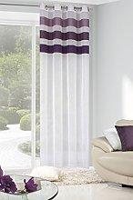 Eurofirany ZAS/Cindy/B+FIOL Curtain with Eyelets,