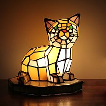 European Cat Table Lamp Children's Lamp Night