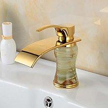 European Gold Basin faucets Mixer Vintage Brass