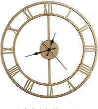 European Industrial Vintage Clock with Roman